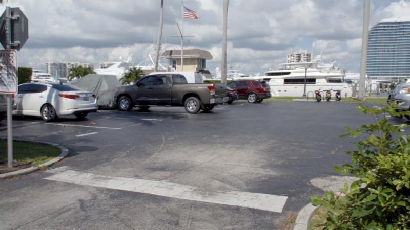 town dock parking lot