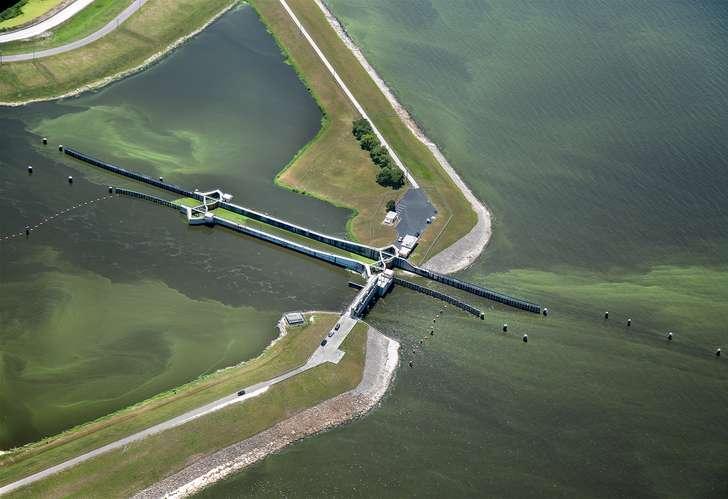 Lake Okeechobee flyover