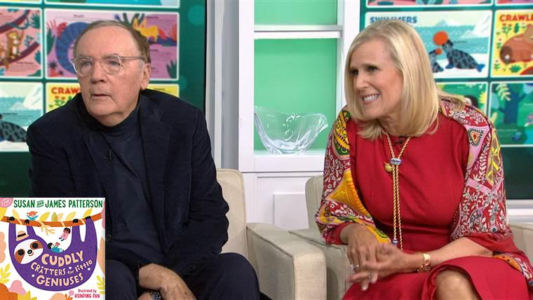 Sue and James Patterson