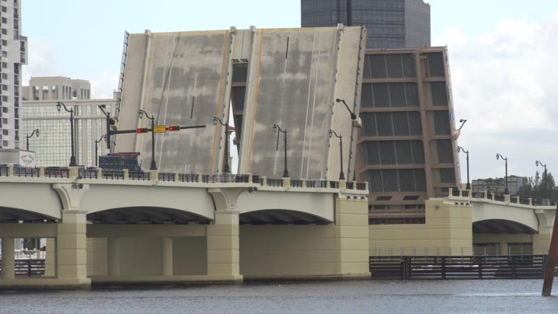 flagler bridge up