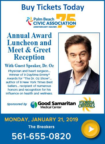 Dr. Oz awards luncheon