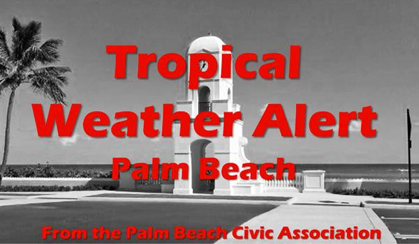 Tropical Weather alert