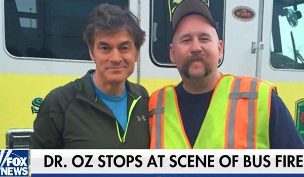Dr. Oz fire