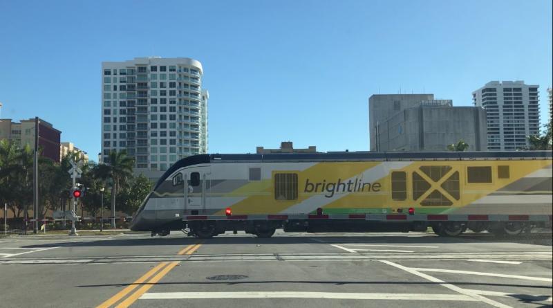 Brightline crossing
