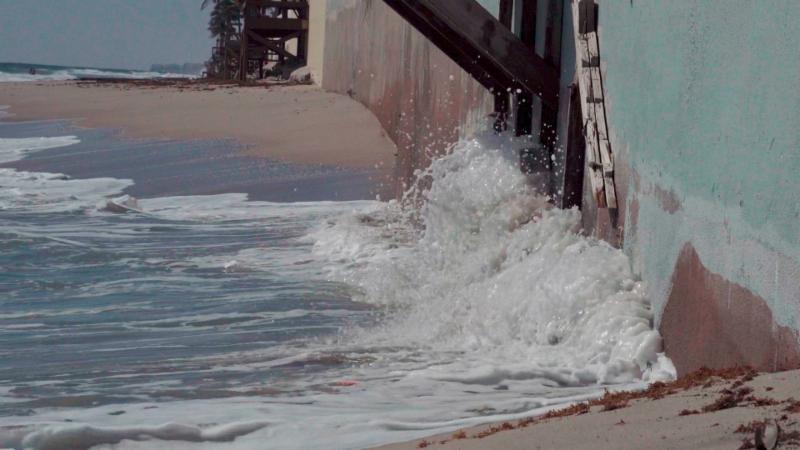 Midtown Beach erosion