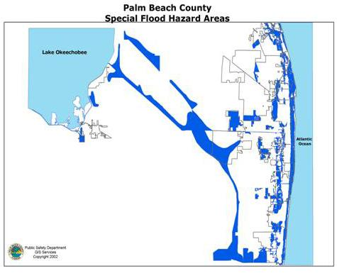 flood hazard Palm Beach county