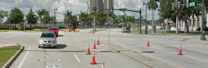 Lakeview Avenue and Flagler Drive