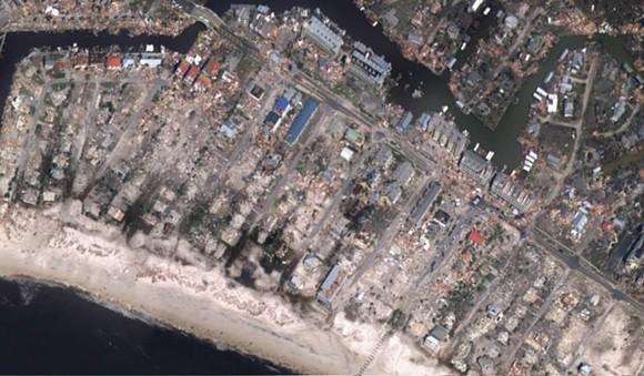 Mexico beach after hurricane michael