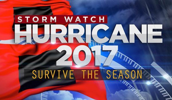 2017 Hurricanes storm watch