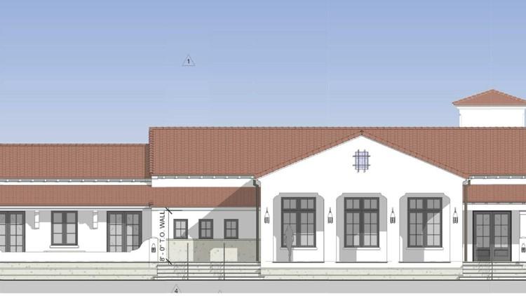 Rec Center plan South