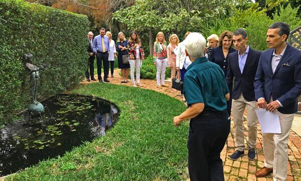 Pan's garden tour