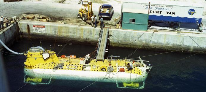 ben franklin submarine