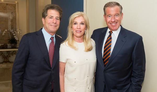 Howard and Michele Kessler Brian Williams