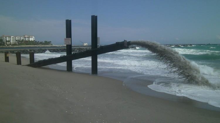 sand transfer pipe