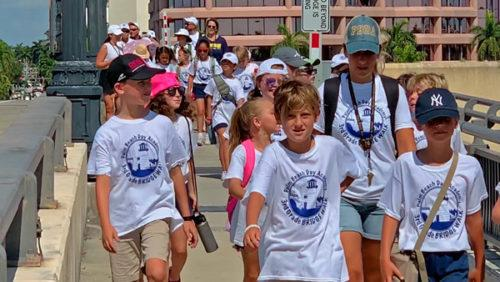 Day Academy bridge walk