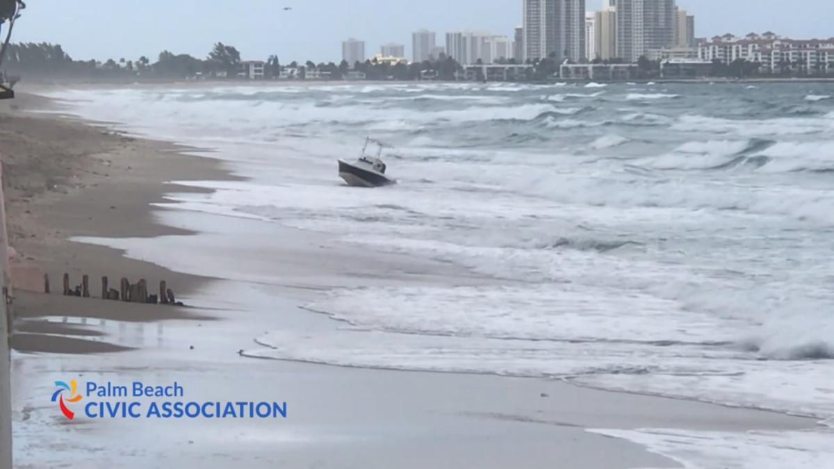migrants land on Palm Beach