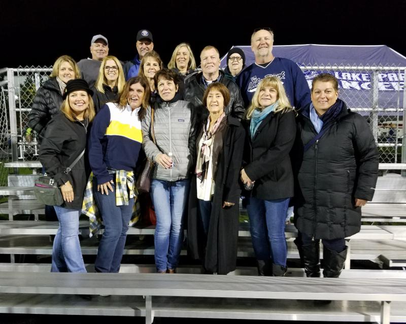 Class of 1978 at Alumni End Zone