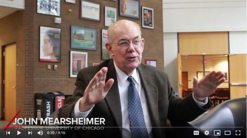 Mearsheimer video screencap