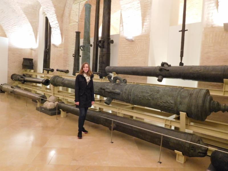 Rachel Armstrong in Spain