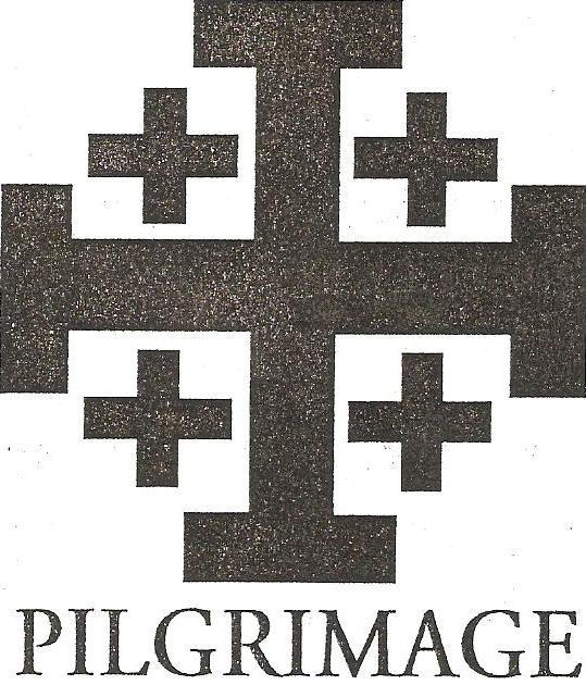 Pilgrimage Cross Logo