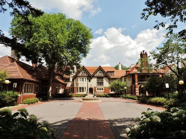 Photograph of Cranbrook House, summer 2013.