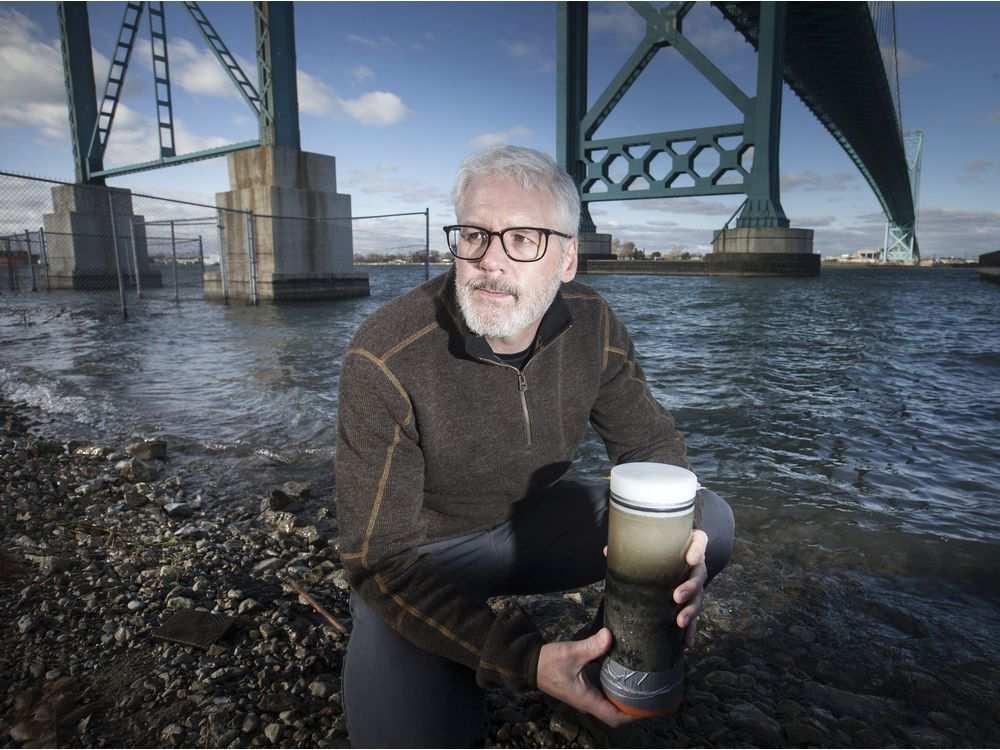 Dr Ken Drouillard Detroit River_Windsor Taken by Dax Melmer, Windsor Star