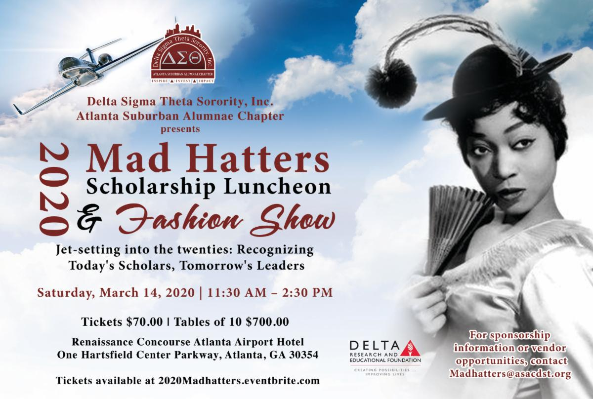 Mad Hatters Scholarship Luncheon and Fashion Show @ Renaissance Concourse Hotel | Atlanta | Georgia | United States