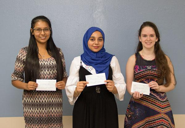 Ruffing Scholarship winners