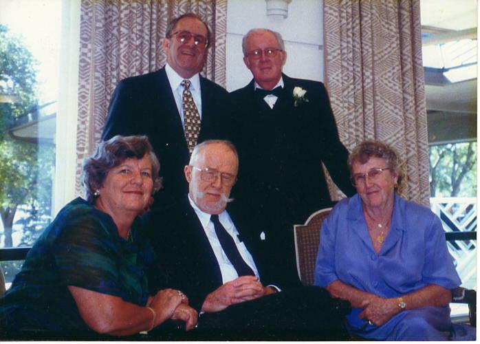 Roemary Gwynn and sibs