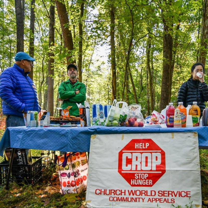 CROP walk refreshments 2016