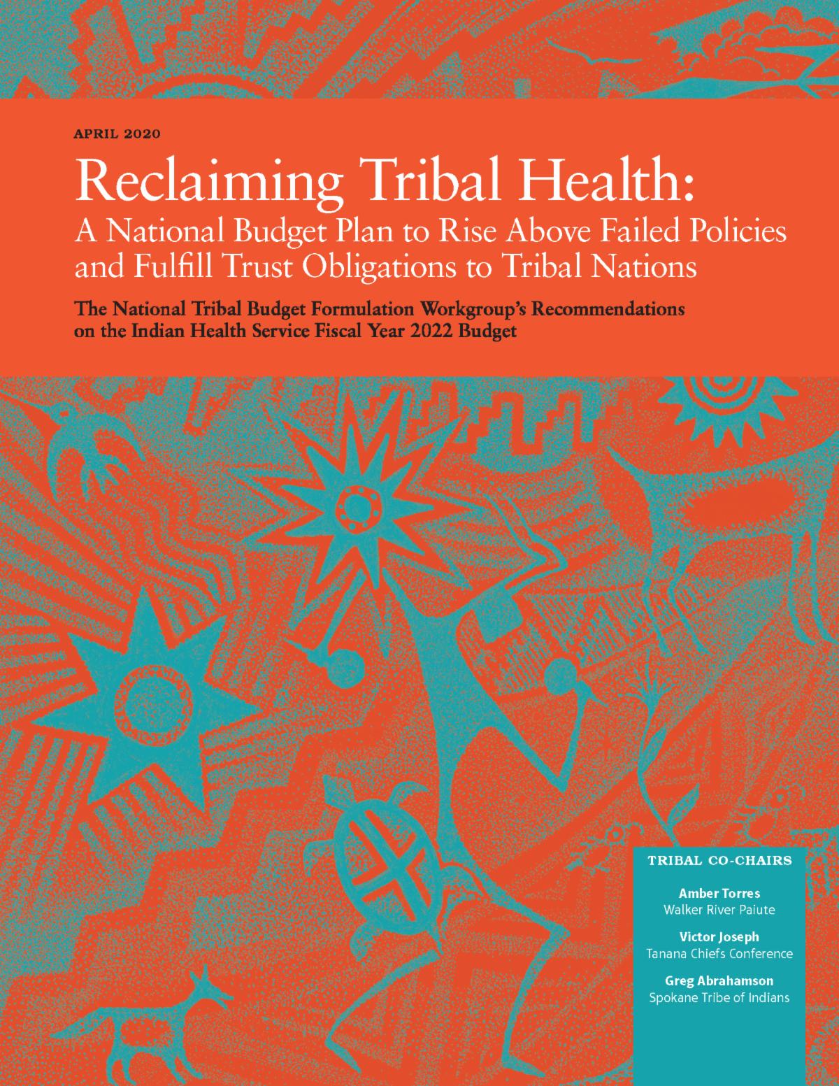 NIHB Tribal Budget Book FY 2022