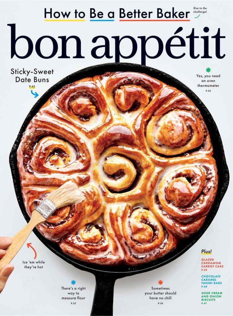 April 1, 2020 magazine cover for Bon Appétit magazine