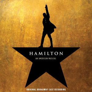 Album cover for Hamilton the Original Broadway Cast Recording