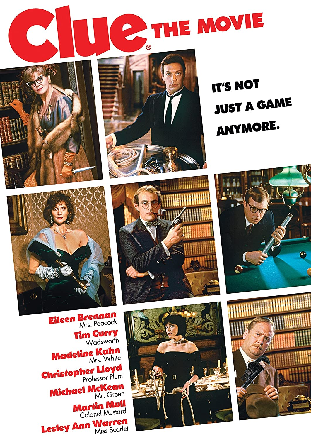 Cover for Clue the Movie.