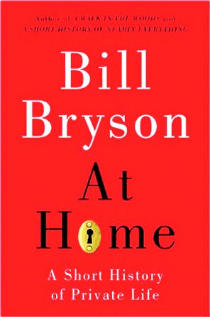 Book cover for At Home by Bill Bryson