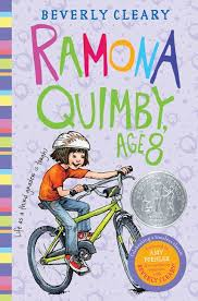 Ramona Quimby, Age 8 by Beverly Cleary book cover