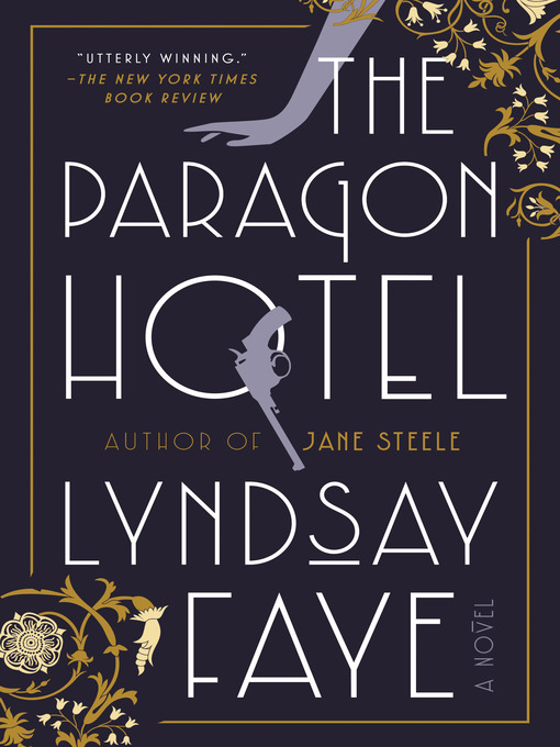 Book cover for The Paragon Hotel by Lyndsay Faye.