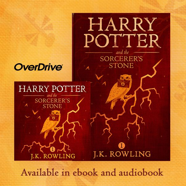 ebook and audiobook covers for Harry Potter and the Sorcerer's Stone