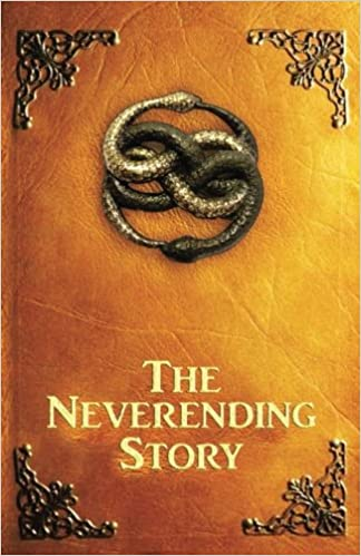 Book cover for The Neverending Story