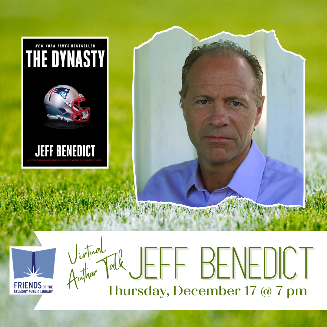 Jeff Benedict on Thursday December 17 at 7 pm