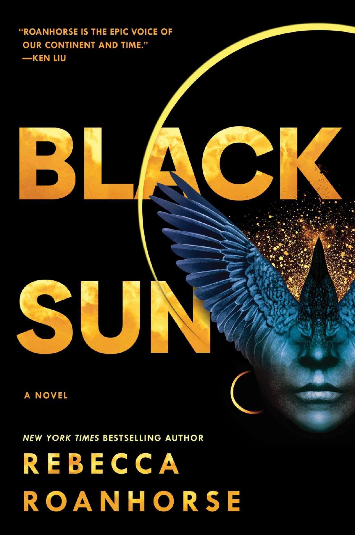 Book cover of Black Sun by Rebecca Roanhorse