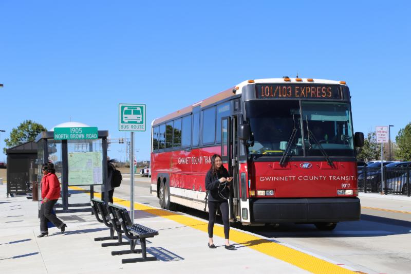 GCT Sweeper Bus