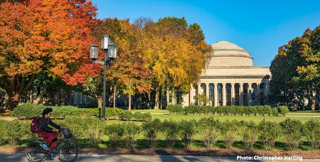 The Great Dome on a sunny day in autumn; Photo by Christopher Harting