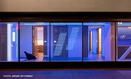 Hiram Banks Lighting Design Makes a Splash with Forward-Thinking Medical Office