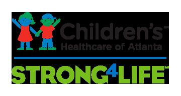 CHOA Strong 4 Life logo