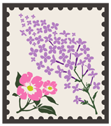 Flower Follower badge