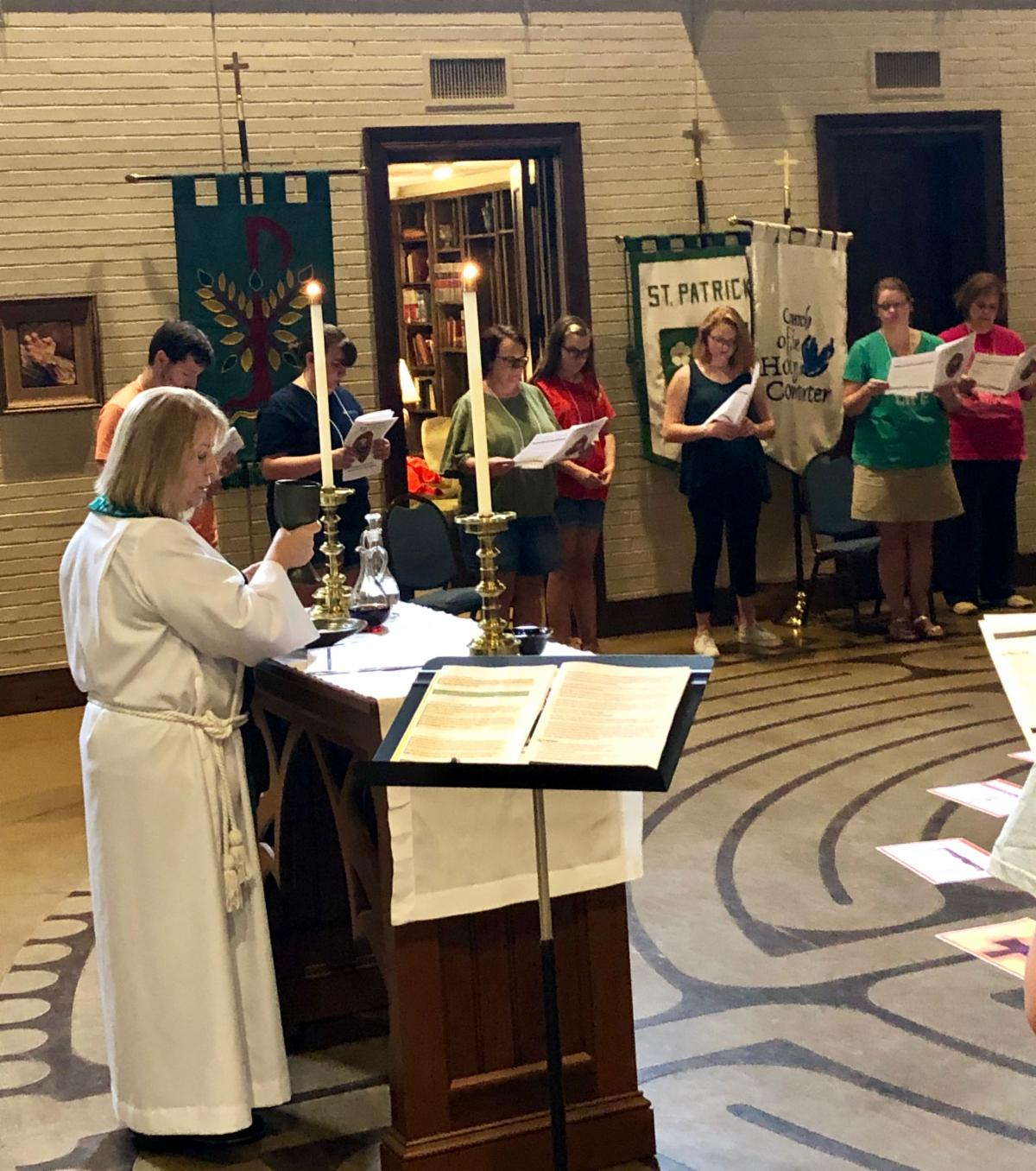 Instructed Eucharist at Acolyte Festival