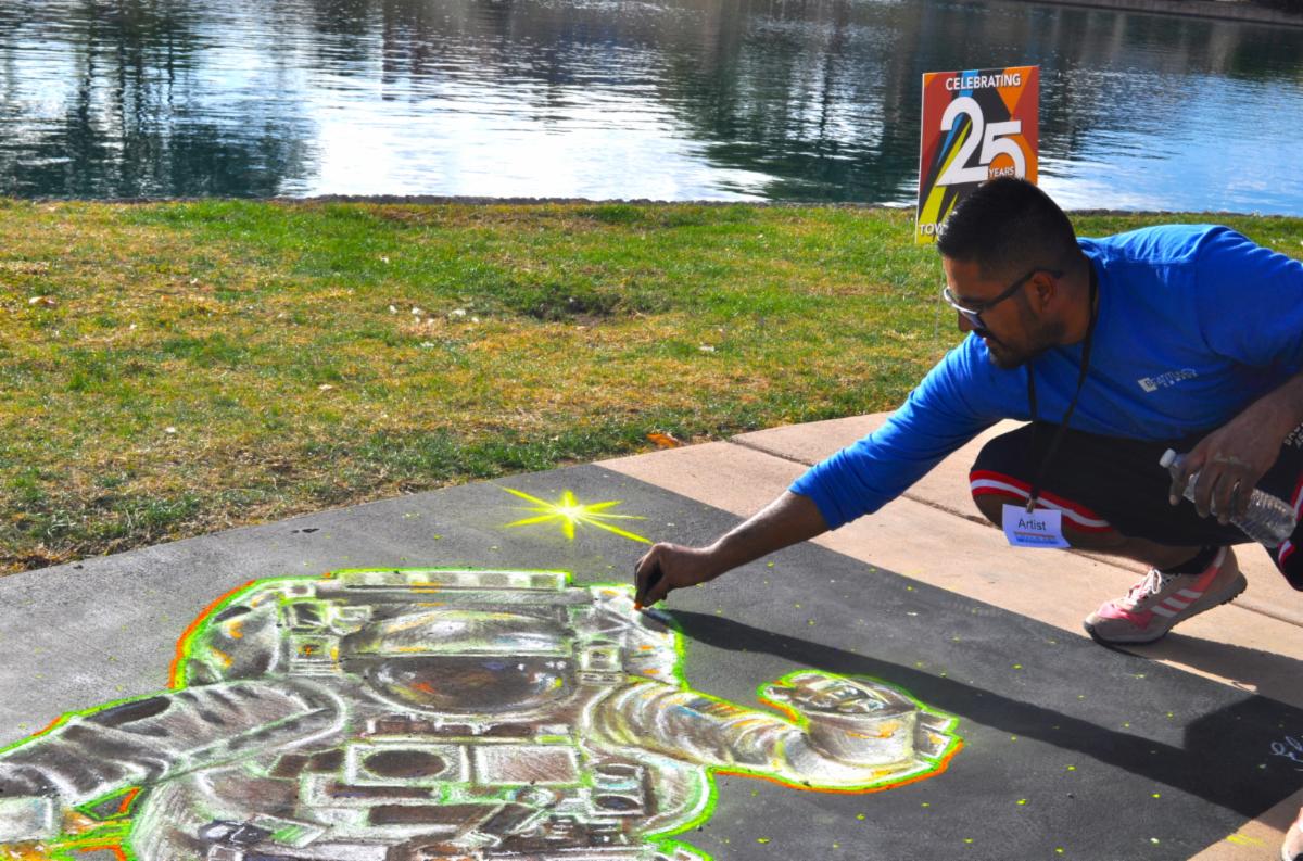 Chalk Art Sahuarita