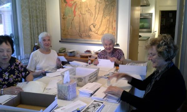 Silvia,Margaret, Agneta, and Elizabeth
