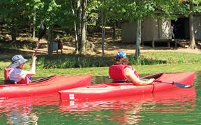 Yoga and Kayaking with Kathy Donnelly 2017